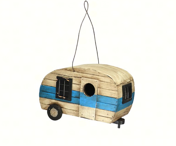 Retro Trailer Bird House