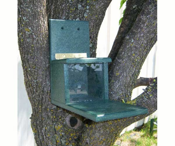 Recycled Squirrels Only Feeder