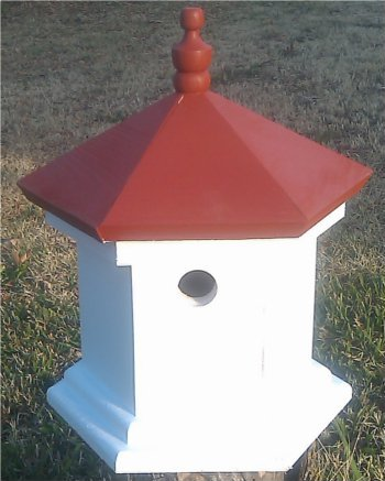 Hampton Bird House - Rancho Red